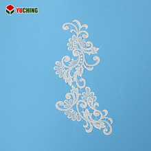 Delicate 2015 Hot Selling Cheap Embroidery Lace Wedding Fabric With Beads/sequines/cordings