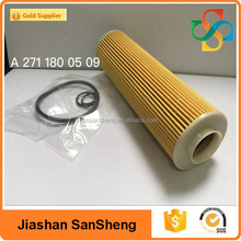 low price auto Oil Filter OEM A2711800509,wholesale oil filter paper