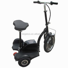 350w/500w 200cc street motorcycle electric scooter 3 wheel kids with removable seat
