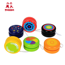 Wholesale outdoor children <strong>yoyo</strong> ball play game kids wooden <strong>yoyo</strong> toy for 3+