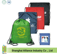 Running Sports Events Promotional Drawstring Bag