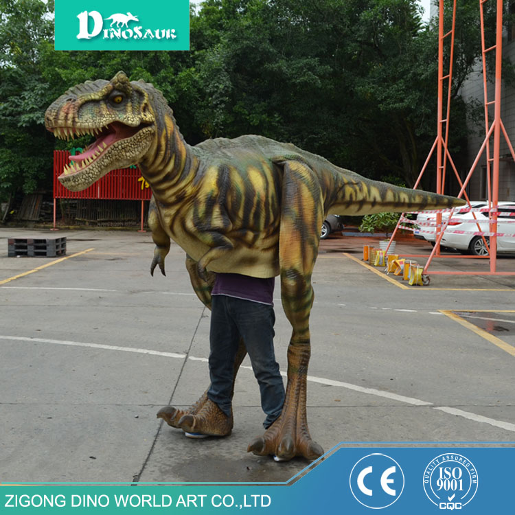 inflatable walking dinosaur toy durable eco-friendly waterproof material