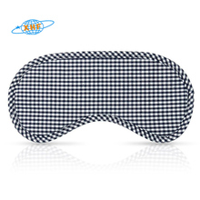 Wholesale custom cotton lattice eye mask sleep patch