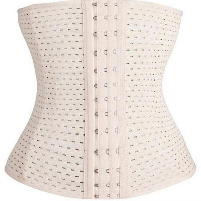 2015 Hot body Shaper Waist training corsets Latex Waist Cincher Steel Boned Corset Underbust Sexy espartilho Bustier