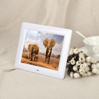 8 inch Digital Photo Frame With MP3 Video Playback Remote Control For Shop Advertising Display