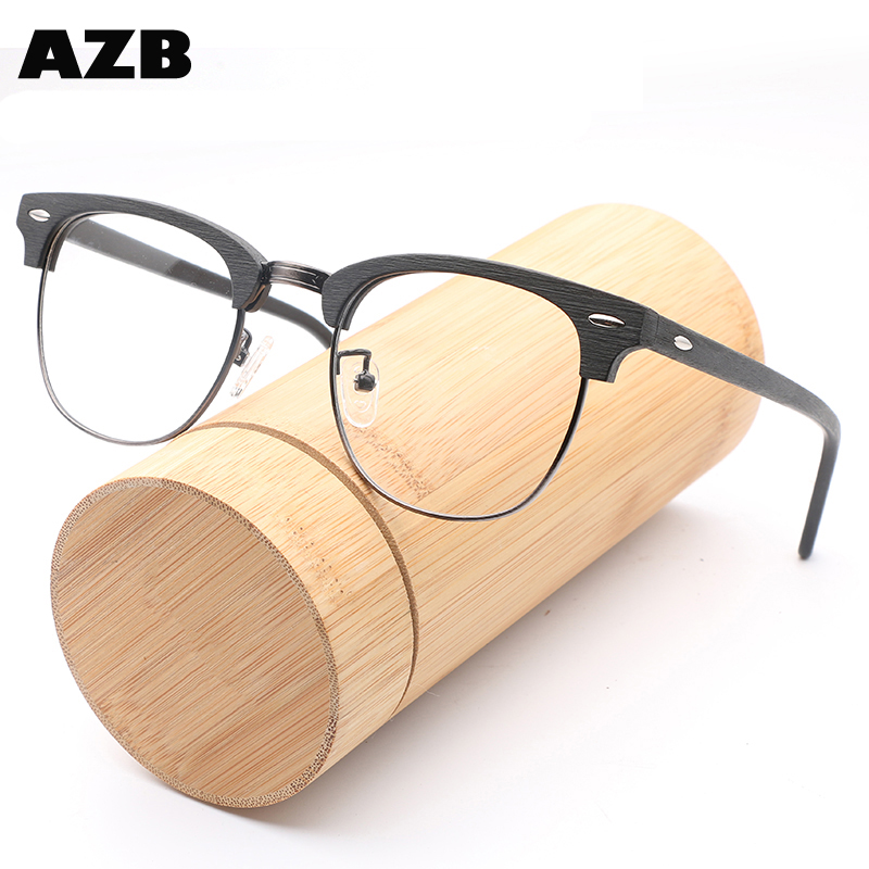 Wholesale bamboo wood optical frames - Online Buy Best bamboo wood ...