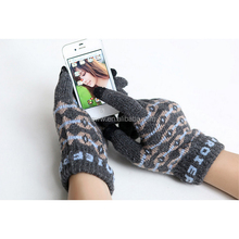 yhao jacquard touchscreen writing gloves men magic gloves