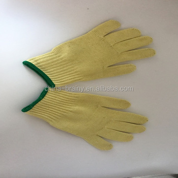 Anti-knife Aramid cut resistant Abration resist special protective working gloves safety gloves