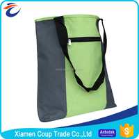 Factory Direct Price Large Reusable Foldable Canvas Shopping Bag With Zipper
