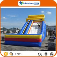 Newest Concept inflatable fun city slide for party use fire engine inflatable slide