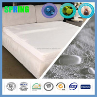 no harmful substances terry anti-asthma polyurthane 6 side waterproof mattress protector