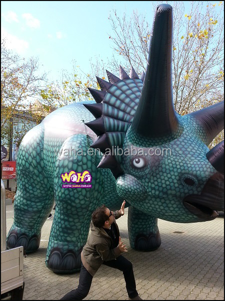 hittest outlet custom inflatable Rhino for advertisement promotion