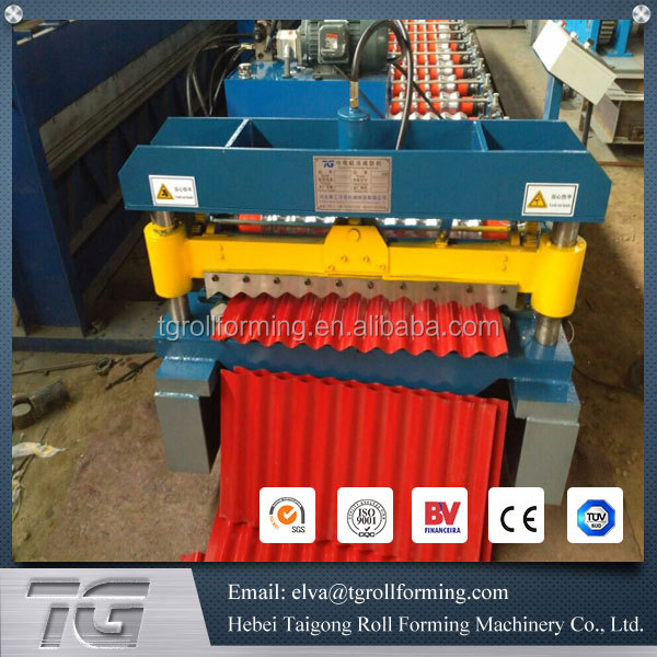 Automatic Type metal roof panel bend machine