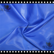 300T polyester taffeta fabric one side oil cire for winter jacket