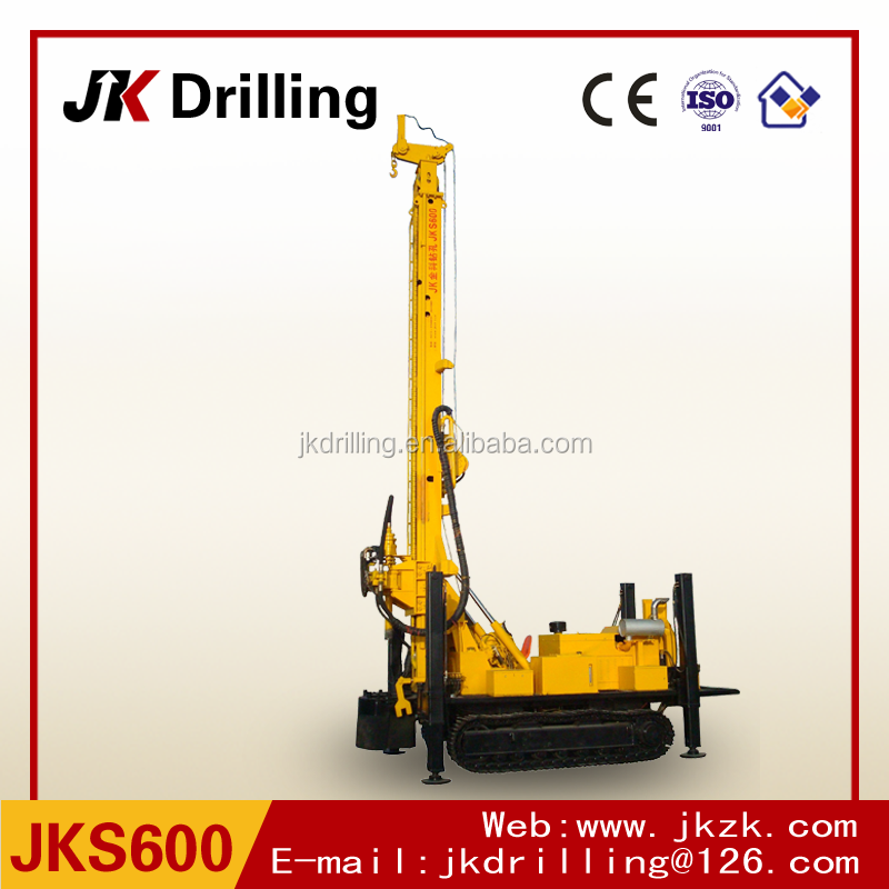 700m deep hydraulic water well drilling rig machine drilling equipment