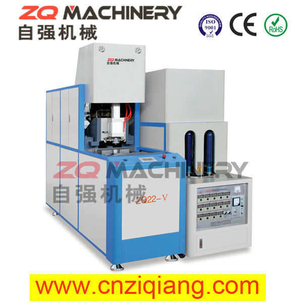 PET stretch blow molding machine for car-shape metal tin box