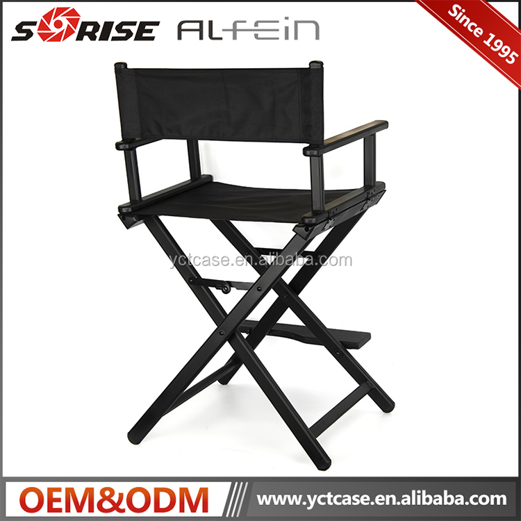 Professional metal foldable portable aluminum frame available colorful makeup chairs