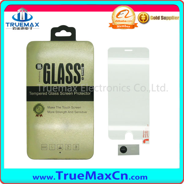 Hot Selling for iPhone 6S Tempered Glass Screen Protector, 0.3MM 9H Anti Broken Touch Screen Glass Film for iPhone 6 / 6S