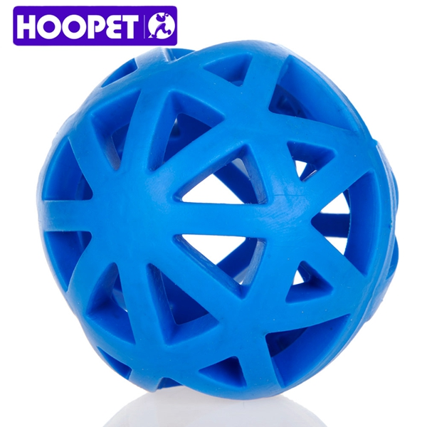 Dog Premium Supplies TPR Hollow Blue Food Leakage Pet Toy Ball