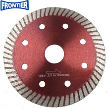 New type Amazon hot press super thin only 1.2mm thickness fine turbo diamond saw blade for cutting ceramic tile