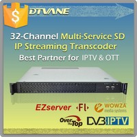 32 Channels Wowza FMS IPTV Streaming Server for IPTV , OTT Application