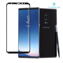Sensitivity Maintain Transparent Full Coverage Curved Tempered Glass Screen Protector for Samsung Galaxy Note 8
