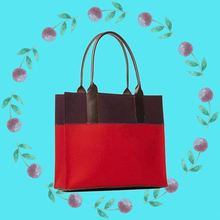 Fashion felt new hand bag women 2014 for supermarket