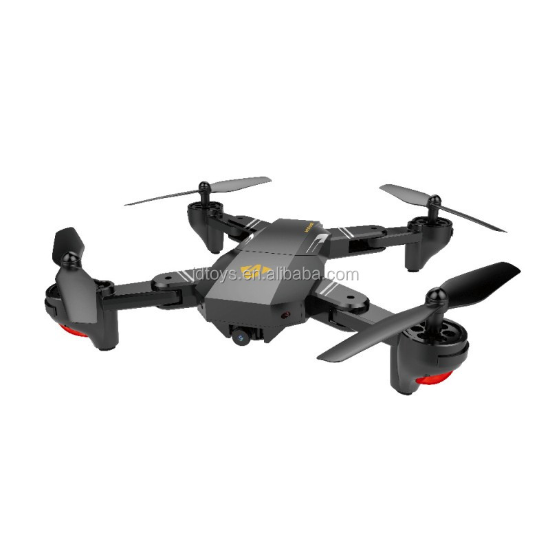 JDtoys newest arrival XS809W Mavic Foldable RC Drone with 720p HD WIFI camera real time transfer mobile phone gravity sensor