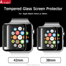 2017 Hight transparent 9h roung edge Tempered Glass Screen protector for Apple watch