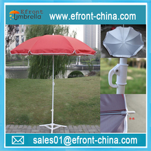 UV coated advertising promotional beach umbrella parasol
