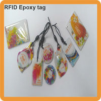 custom printed entry phone 13.56mhz rfid tag china manufacturer