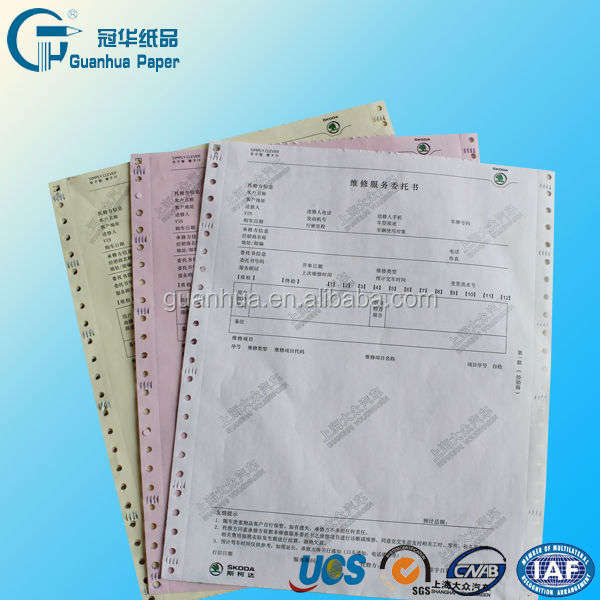 high quality a4 continuous paper form