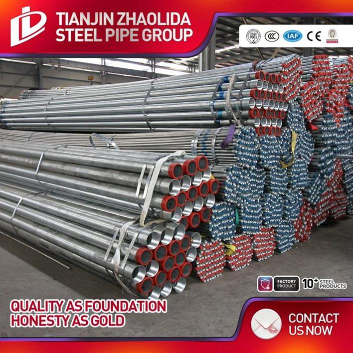 BS1387 class b hot dipped galvanized steel tube socket joint pipe product manufacturer in china price per ton