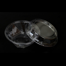 Non-Toxic Plastic Clear clamshell Fruit Packaging Box for strawberry