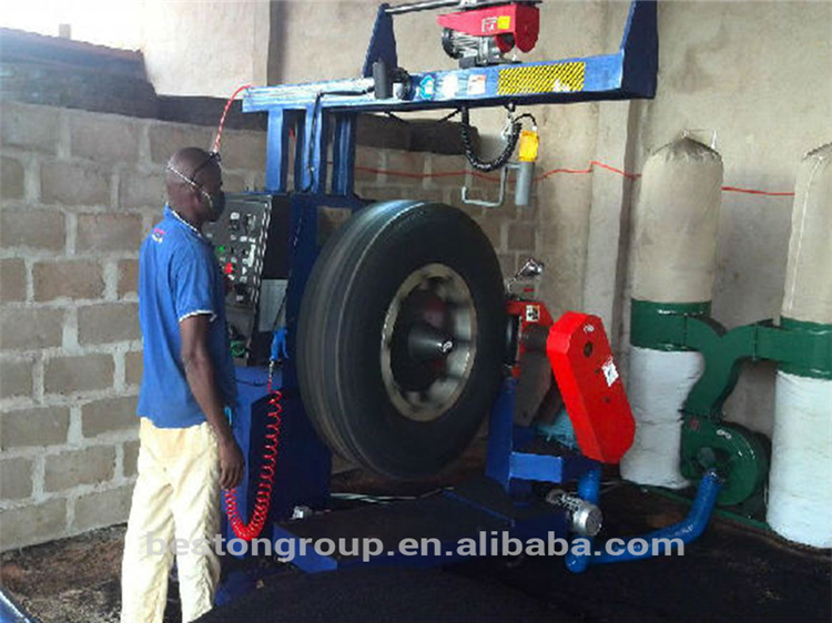 Competitive supplier used tyre cutting machine for rubber powder CE ISO