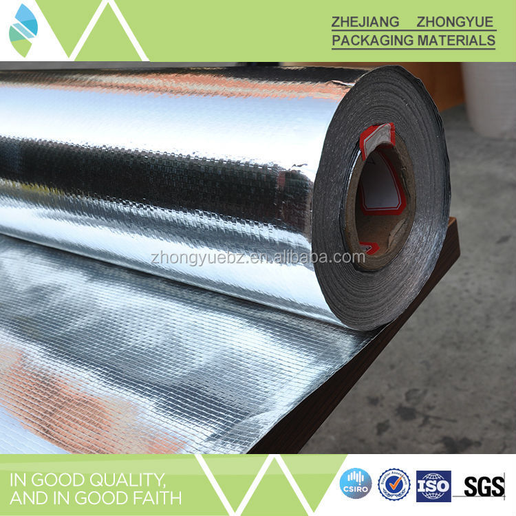 Max Width per roll 2.2 M polyester aluminum foil woven fabric, aluminum foil tablets pills packaging