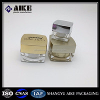 Mini Plastic 2ml 3ml 5ml 10ml 15ml 20ml 30ml clear transparent Cream Jar 5ml cosmetic jar