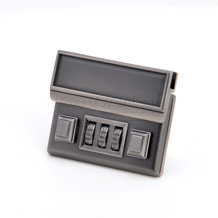 3 codes briefcase lock