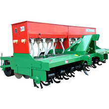 No-till deep loosening and fertilizing corn seeder machine