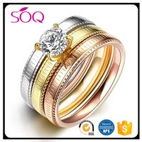 18k latest gold finger ring designs gay men iced out cz diamond rings for men