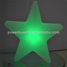 2013 hot sale led colorful stars for christmas ,night club party