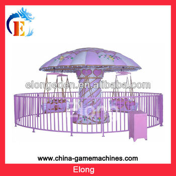 Hot sale outdoor playground amusement park 12seats flying chairs theme park equipment
