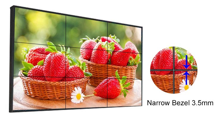 46 inch OEM 3x4 lcd video wall videowall with 4K controller