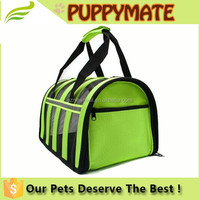 Soft Travel Tote Airline dog carrier, foldable dog carrier crate