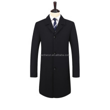 High Quality Long Middle Coat Men's Over Coat Wholesale
