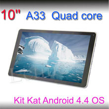 Touch tablet high speed mini laptop 10.1 inch 1024*600 HD screen A33 android mid