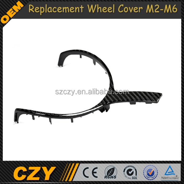 M2 M3 M4 M5 M6 Race Replacement Carbon Auto Steering Wheel Cover for BMW