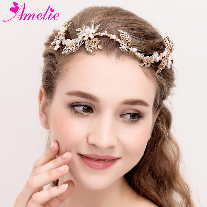 Wedding Hair Accessories Tiaras Charm Bridal Headpiece Crystal Bride Hair Crown Women Headband tiara de noiva