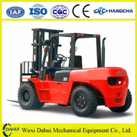 durable 8 ton diesel forklift with large capacity for sale