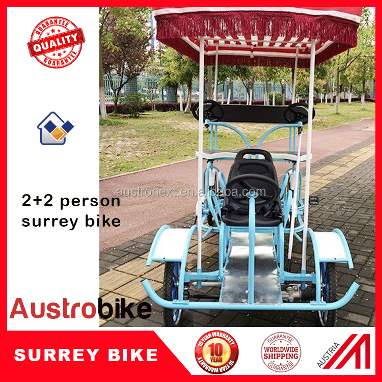 four wheel surrey bicycle for Europe